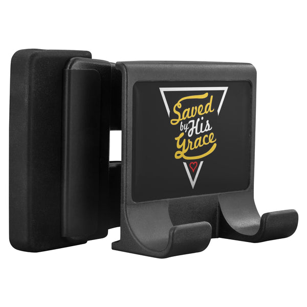Saved By His Grace Christian Cell Phone Monitor Holder Laptop Desktop Display-Moniclip-Moniclip-JoyHip.Com