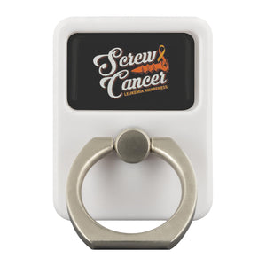 Screw Cancer Leukemia Cancer Awareness Phone Ring Holder Kickstand Gifts Idea-Ringr - Multi-Tool Accessory-Ringr - Multi-Tool Accessory-JoyHip.Com