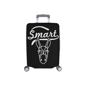 Smart Ass Funny Sarcasm Sarcastic Travel Luggage Cover Suitcase Protector-S-Black-JoyHip.Com