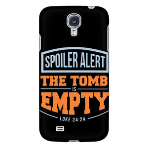 Spoiler Alert The Tomb Is Empty Luke 24:24 iPhone 6/6s/7/7s/8 Plus Case Christian Bible Verses Inspirational Scripture Quote-Phone Cases-Galaxy S4-JoyHip.Com