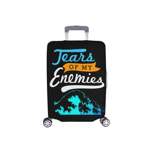 Tears Of My Enemies Funny Travel Luggage Cover Suitcase Protector Gift Baggage-S-Black-JoyHip.Com