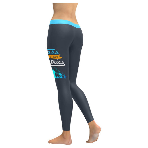 Tears Of My Enemies Soft Leggings For Women Cute Funny Gift Ideas Humor Sarcasm-JoyHip.Com