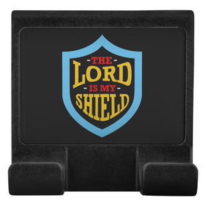 The Lord Is My Shield Christian Cell Phone Monitor Holder For Laptop Desktop-Moniclip-Moniclip-JoyHip.Com