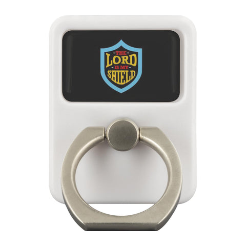 The Lord Is My Shield Christian Phone Ring Holder Religious Kickstand Spiritual-Ringr - Multi-Tool Accessory-Ringr - Multi-Tool Accessory-JoyHip.Com