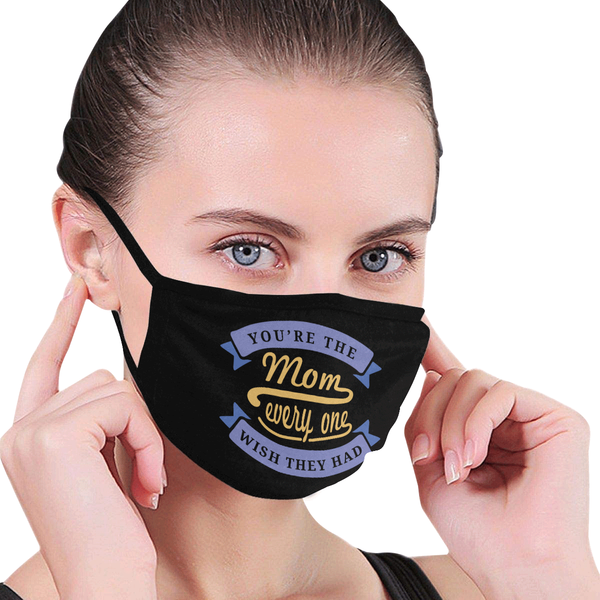 The Mom Everyone Wish They Had Washable Reusable Face Mask With Filter Pocket-Face Mask-JoyHip.Com