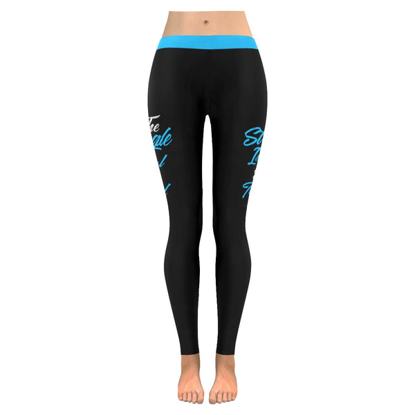 The Struggle Is Real But So Is My God Soft Leggings For Women Cute Christian-JoyHip.Com