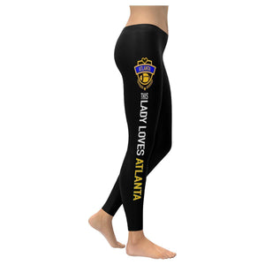 This Lady Loves ATLANTA Football Low Rise Leggings-Low Rise Leggings-XXS-JoyHip.Com