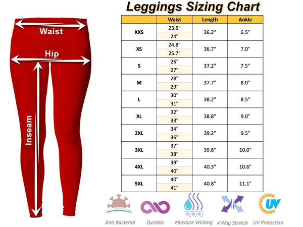 This Lady Loves OHIO Football Low Rise Leggings-Low Rise Leggings-JoyHip.Com