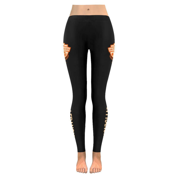 This Lady Loves SAN FRANCISCO Football Low Rise Leggings-Low Rise Leggings-JoyHip.Com