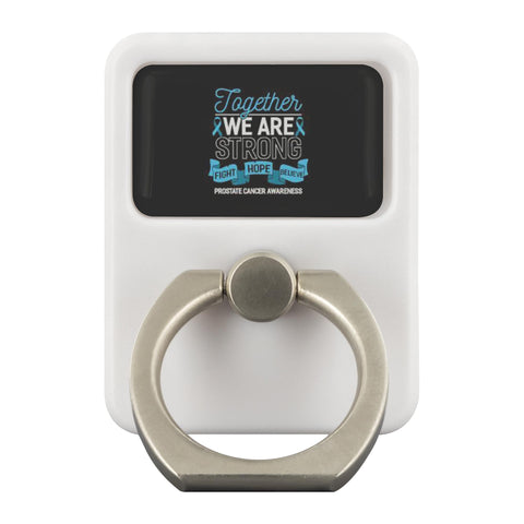 Together We Are Strong Fight Hope Believe Prostate Cancer Phone Ring Holder-Ringr - Multi-Tool Accessory-Ringr - Multi-Tool Accessory-JoyHip.Com