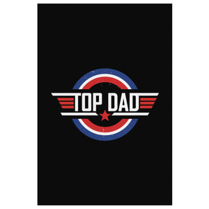Top Dad Funny Gifts For Men Canvas Wall Art Home Room Decor New Dad Fathers Day-Canvas Wall Art 2-8 x 12-JoyHip.Com