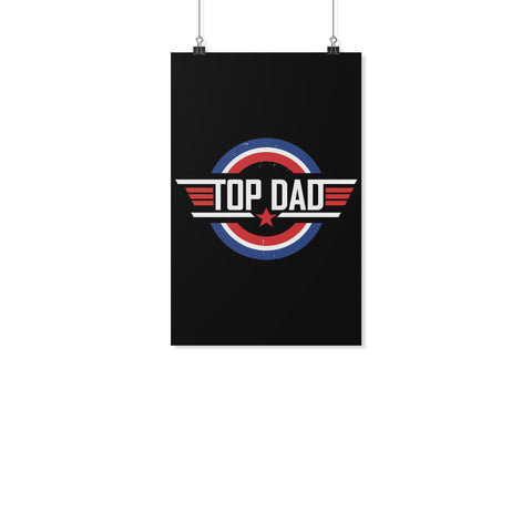 Top Dad Funny Gifts For Men Poster Wall Art Home Room Decor Father Day Gift Idea-Posters 2-11x17-JoyHip.Com