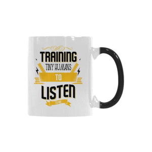 Training Tiny Humans To Listen To Me Teacher Color Changing/Morphing 11oz Coffee Mug-Morphing Mug-One Size-JoyHip.Com