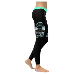 Until You Cross Of Insecurities Cant Explore Your Possibilities Womens Leggings-XXS-Black-JoyHip.Com