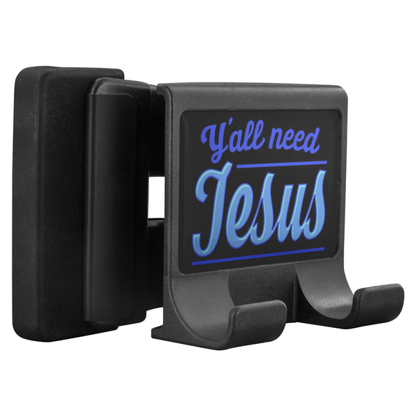 Y'all Need Jesus Christian Cell Phone Monitor Holder For Laptop Desktop Display-Moniclip-Moniclip-JoyHip.Com
