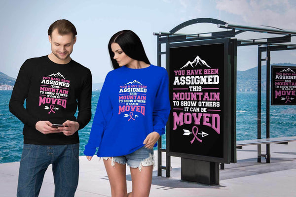 You Been Assigned This Mountain To Show Others It Can Be Moved Cancer Sweater-T-shirt-JoyHip.Com