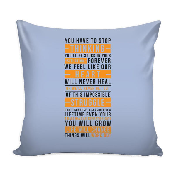 You Don't Get What You Wish For You Get What You Work For Inspirational Motivational Quotes Decorative Throw Pillow Cases Cover(9 Colors)-Pillows-Grey-JoyHip.Com