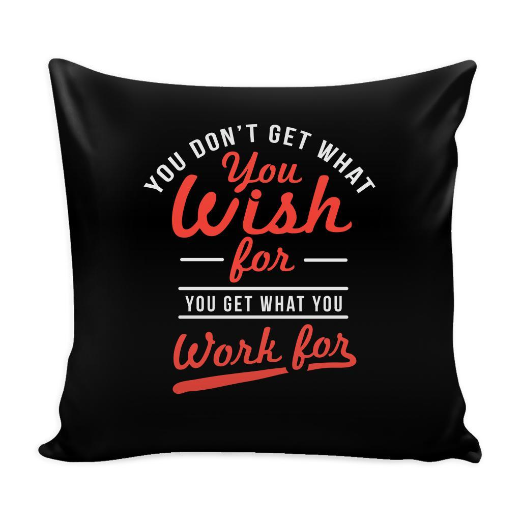 You Have To Stop Thinking You Will Grow Life Will Change Things Will Work Out Inspirational Motivational Quotes Decorative Throw Pillow Cases Cover(9 Colors)-Pillows-Black-JoyHip.Com