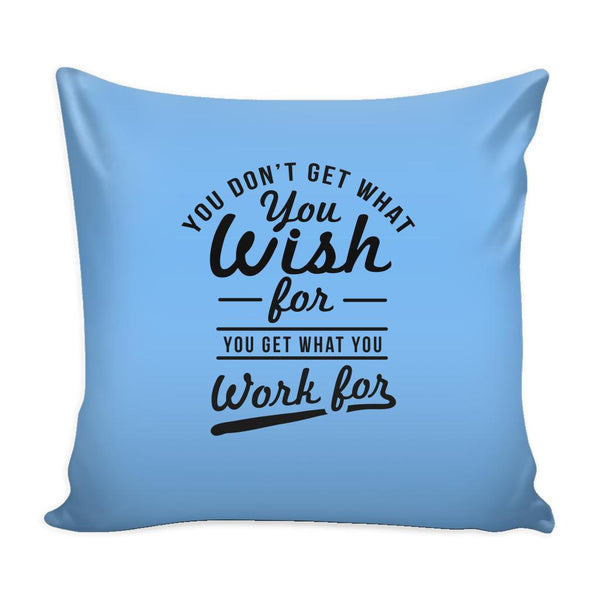 You Have To Stop Thinking You Will Grow Life Will Change Things Will Work Out Inspirational Motivational Quotes Decorative Throw Pillow Cases Cover(9 Colors)-Pillows-Blue-JoyHip.Com