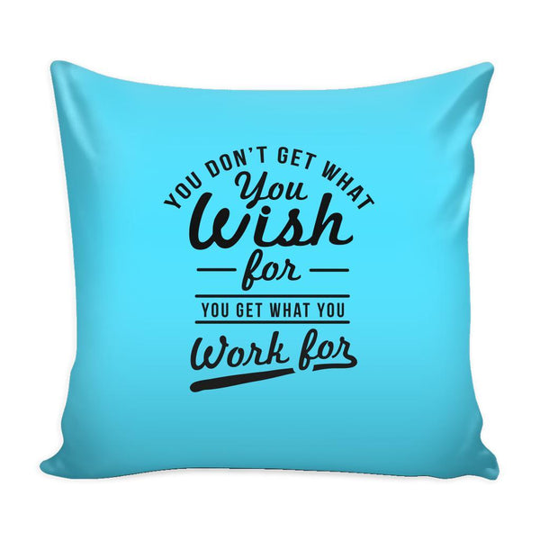 You Have To Stop Thinking You Will Grow Life Will Change Things Will Work Out Inspirational Motivational Quotes Decorative Throw Pillow Cases Cover(9 Colors)-Pillows-Cyan-JoyHip.Com