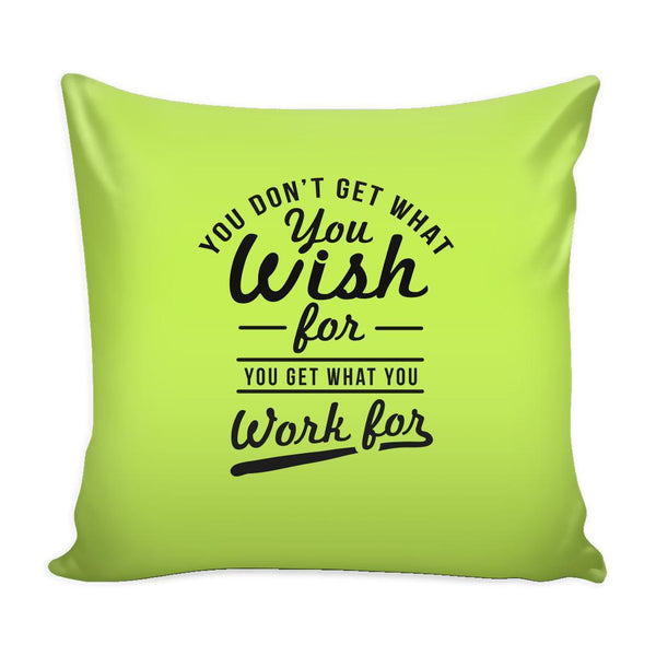 You Have To Stop Thinking You Will Grow Life Will Change Things Will Work Out Inspirational Motivational Quotes Decorative Throw Pillow Cases Cover(9 Colors)-Pillows-Green-JoyHip.Com