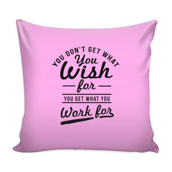 You Have To Stop Thinking You Will Grow Life Will Change Things Will Work Out Inspirational Motivational Quotes Decorative Throw Pillow Cases Cover(9 Colors)-Pillows-Pink-JoyHip.Com