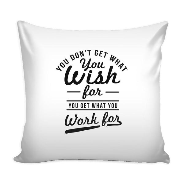 You Have To Stop Thinking You Will Grow Life Will Change Things Will Work Out Inspirational Motivational Quotes Decorative Throw Pillow Cases Cover(9 Colors)-Pillows-White-JoyHip.Com