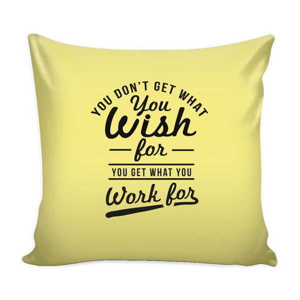 You Have To Stop Thinking You Will Grow Life Will Change Things Will Work Out Inspirational Motivational Quotes Decorative Throw Pillow Cases Cover(9 Colors)-Pillows-Yellow-JoyHip.Com