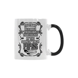 You Might Be A Biker If You Recognize Your Friends By The Sound Of Their Pipes Motorcycle Color Changing/Morphing 11oz Coffee Mug-Morphing Mug-One Size-JoyHip.Com