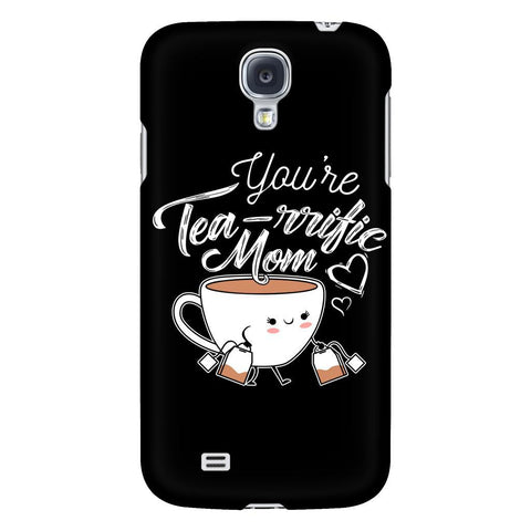 You're Tea Rrific Mom Cute Funny Mama Gift Ideas iPhone 6/6s/7/7s/8 Plus Case-Phone Cases-Galaxy S4-JoyHip.Com