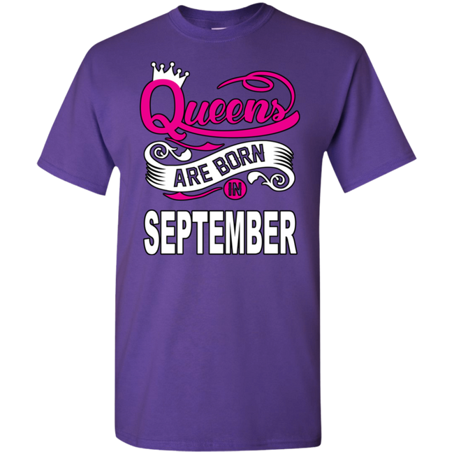 Queens Are Born In September (Youth) T-shirts/Hoodies - Truly Devoted Streetwear