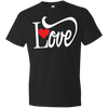 Love With Red Heart Tshirt