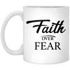 Coffee Mug - Faith Over Fear - Truly Devoted Streetwear