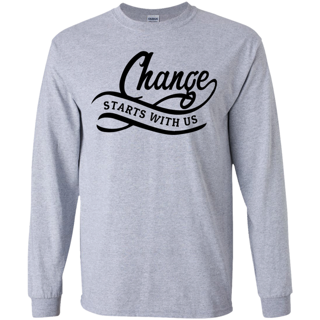 Change Start With Us (Youth) T-shirts / Hoodies