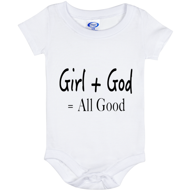 Girl + God = All Good (Infant) Onesies