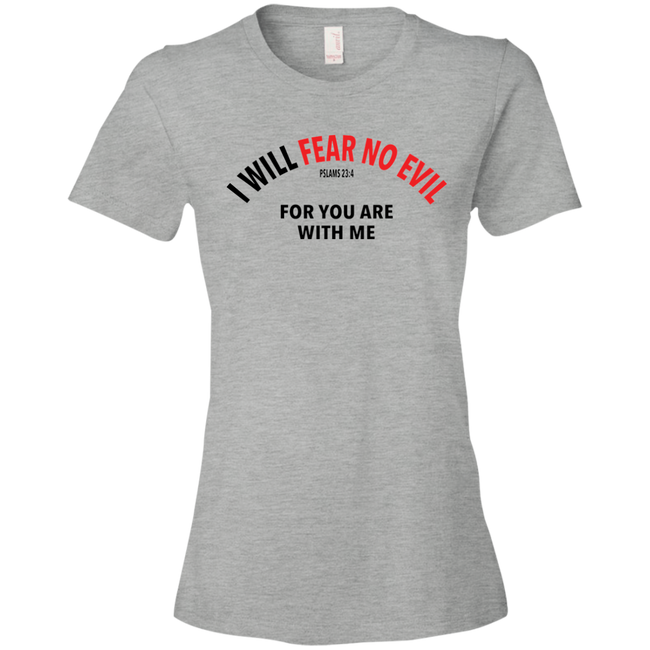 I Will Fear No Evil Tshirt - Truly Devoted Streetwear