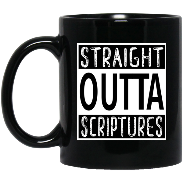 Coffee Mug - Straight Outta Scriptures - Truly Devoted Streetwear