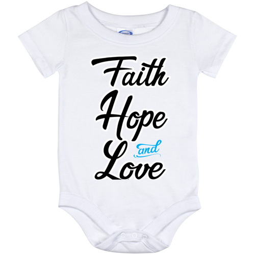 Faith Hope and Love (infant) Onesies - Truly Devoted Streetwear