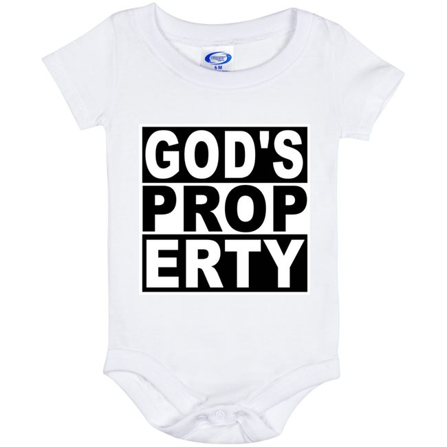 Gods Property - Infant Onesie - Black and Proud Tshirts
