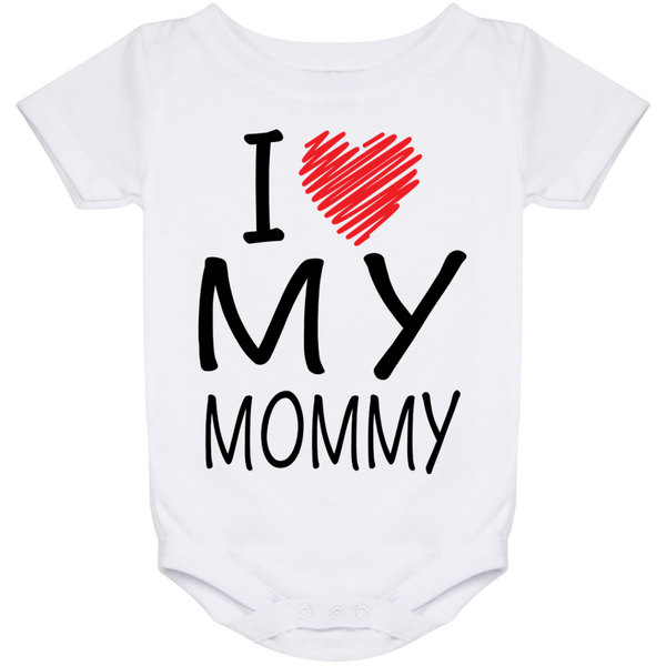 I Love My Mommy - (Infant) Onesie - Truly Devoted Streetwear