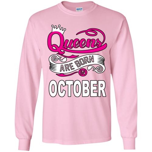 Queens Are Born In October (Youth) T-shirts/Hoodies - Truly Devoted Streetwear