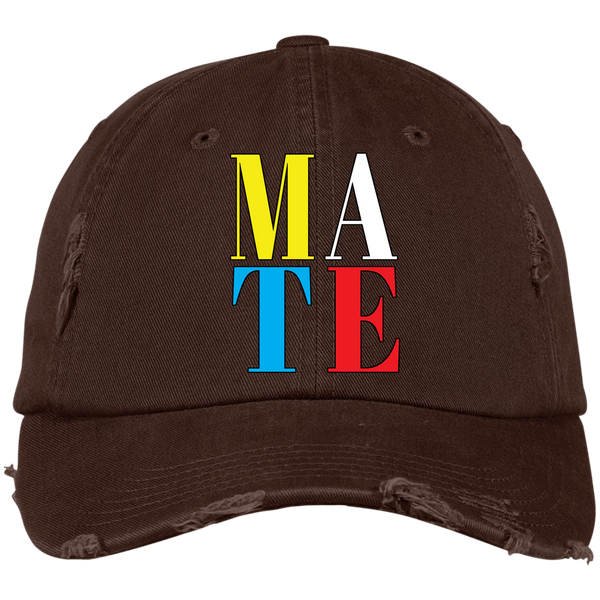 DISTRESSED CAP - MATE - Truly Devoted Streetwear