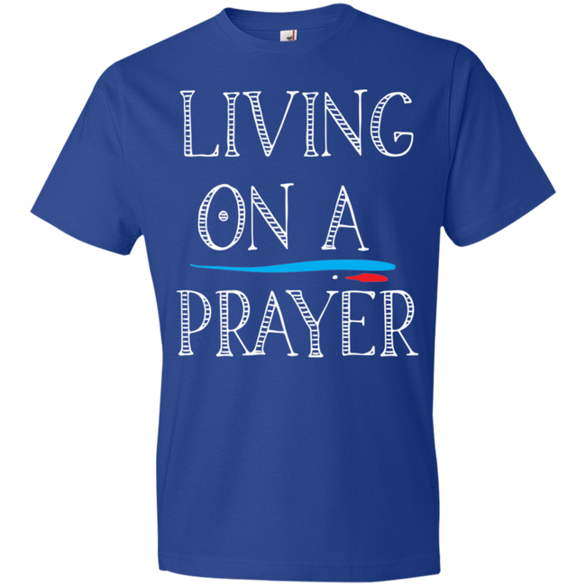Living On A Prayer Tshirt - Truly Devoted Streetwear