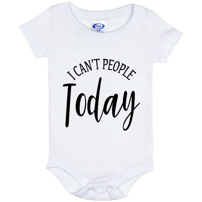 Can't People Today (Infant) Onesies