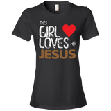 This Girl Loves Her Jesus T-shirt - Truly Devoted Streetwear