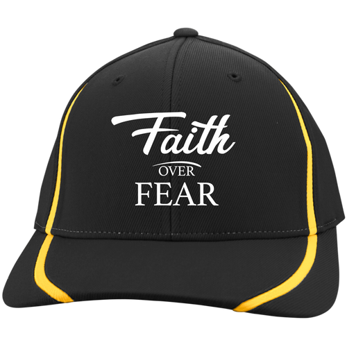 Cap - Faith Over Fear (Striped Lines)