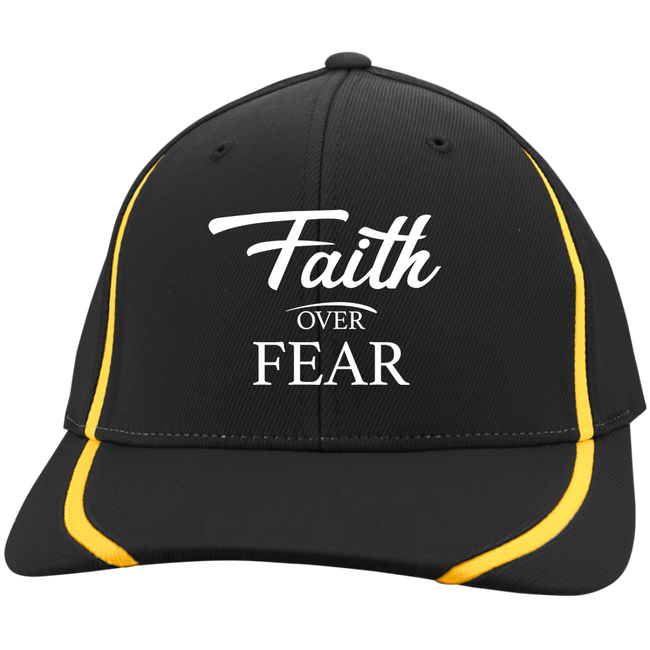 Cap - Faith Over Fear (Striped Lines Flexfit)