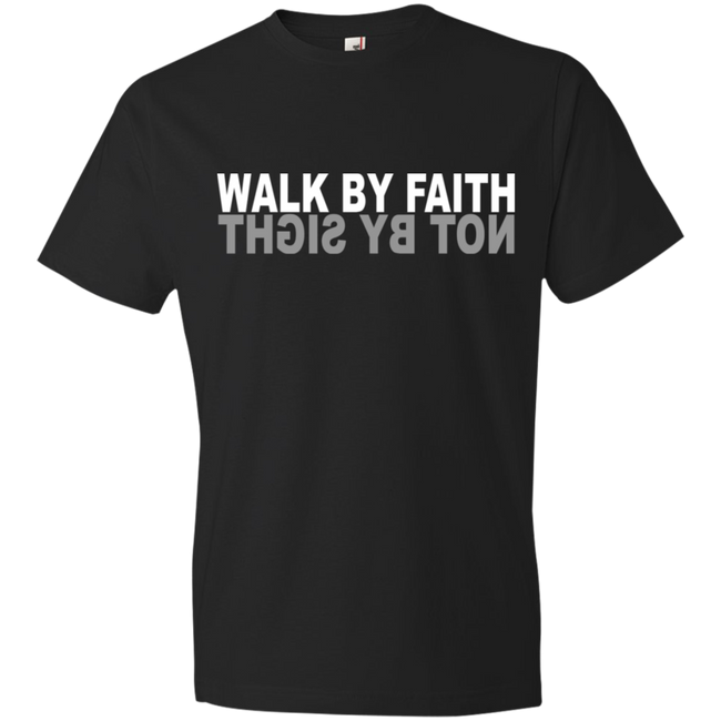 Walk By Faith Not By Sight Tshirt - Truly Devoted Streetwear