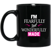 Coffee Mug - I'm Fearfully and Wonderfully Made II - Truly Devoted Streetwear