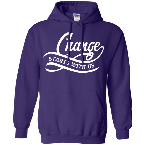 Change Starts With Us Hoodie & Crewneck - Truly Devoted Streetwear